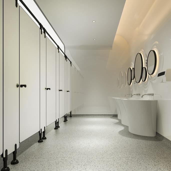 Hygienic washrooms